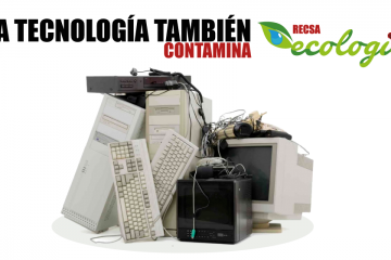 Contaminación por tecnología