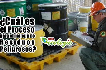 proceso de manejo de residuos peligrosos